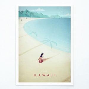 Hawaii plakát, A3 - Travelposter