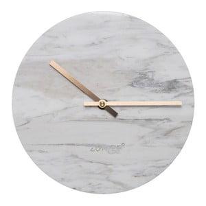 Marble Time fehér márvány falióra - Zuiver