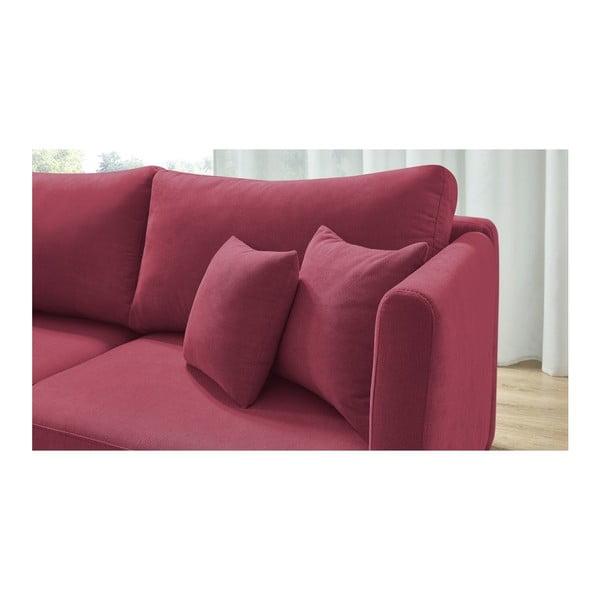Triplo piros háromszemélyes kinyitható kanapé - Bobochic Paris