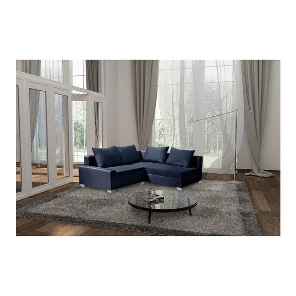 Aventure sötétkék kanapé, jobb oldalas - Interieur De Famille Paris