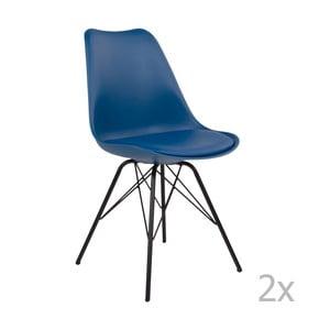 Oslo kék székkészlet, 2 darab- House Nordic