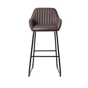Brooks kávébarna kárpitozott bárszék - Unique Furniture