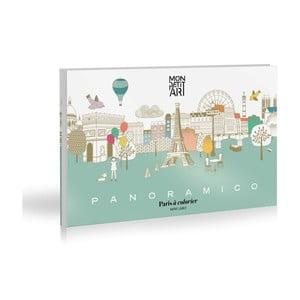 Panoramico Paris színezőkönyv - Mon Petit Art
