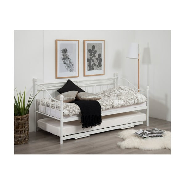 Olivia fehér kinyitható ágy, 90 - 180x200cm - Actona