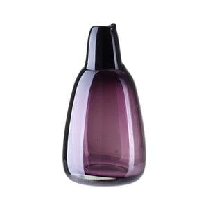 Lila üvegváza, magasság 21 cm - A Simple Mess