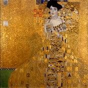Adele Bloch-Bauer másolat, 45 x 45 cm - Gustav Klimt