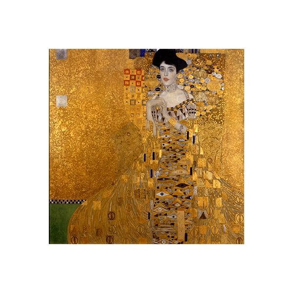 Gustav Klimt - Bauer I kép másolat, 60 x 60 cm
