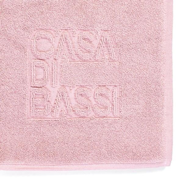 Basic rózsaszín pamut fürdőszobai kilépő, 50 x 70 cm - Casa Di Bassi