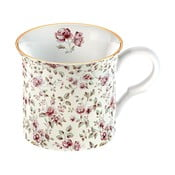 Floral fehér porcelán bögre - Creative Tops
