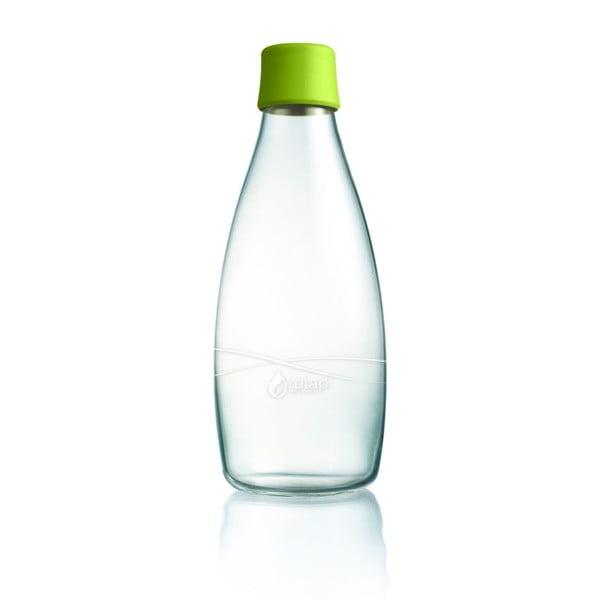 Zöld üvegpalack élettartam garanciával, 800 ml - ReTap