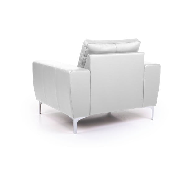 Twigo fehér bőr fotel - Softnord
