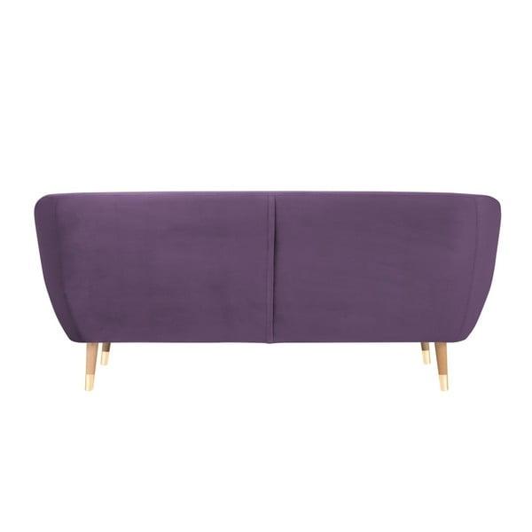 Amelie lila háromszemélyes kanapé - Mazzini Sofas