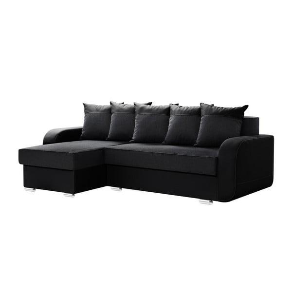Destin fekete kanapé, bal oldalas - Interieur De Famille Paris