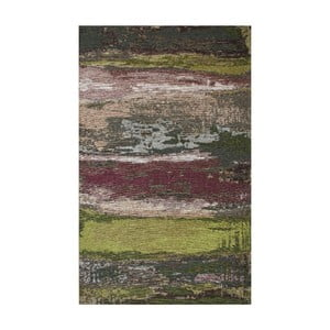 Koberec Eco Rugs Green Abstract, 80x150cm