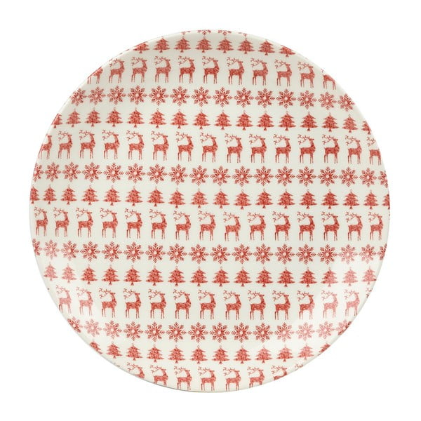 Xmas tányér, ⌀ 20 cm - Churchill China