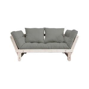 Beat Natural/Grey kinyitható kanapé - Karup Design