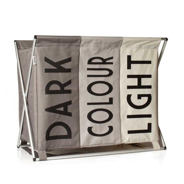 Light Dark & Coloured bézs szennyestartó - Sabichi