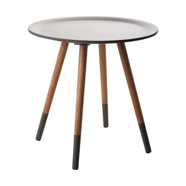 Two Tone sötétszürke asztalka - Zuiver