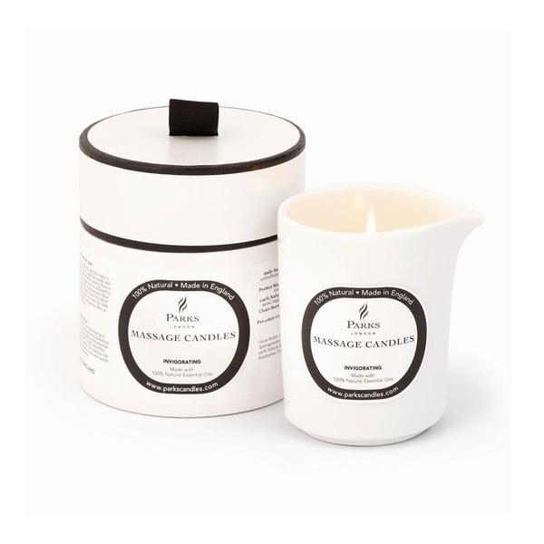 Euphoric Invigorating mandarin és rozmaring illatú masszázsgyertya, égési idő 50 óra - Parks Candles London