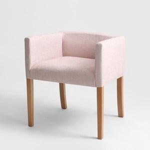 Růžové křeslo Custom Form Wilton