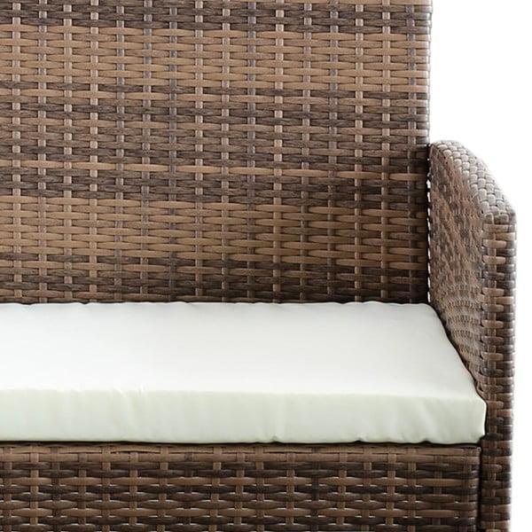 Berry kerti bútor garnitúra, mesterséges rattanból - Timpana