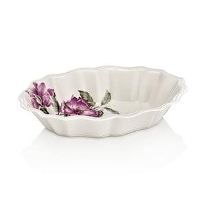 Shine Rose porcelán felszolgáló tál, hossza 24 cm