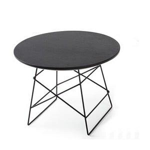 Grid fekete kisasztal, 45 cm - Innovation