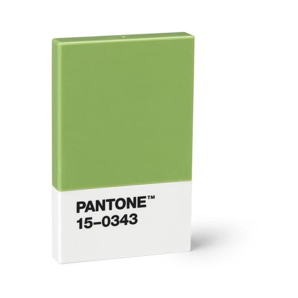 Zöld névjegykártya tartó - Pantone