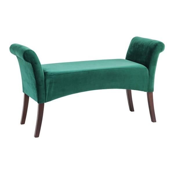 Motley zöld párnázott pad - Kare Design