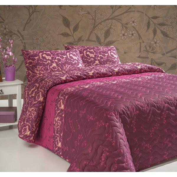 Gulistan könnyű kétszemélyes steppelt ágytakaró 2 párnahuzattal, 200 x 220 cm
