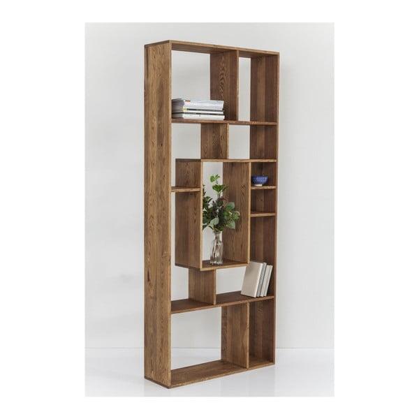 Regal Attento indiai rózsafa könyvespolc, magasság 190 cm - Kare Design