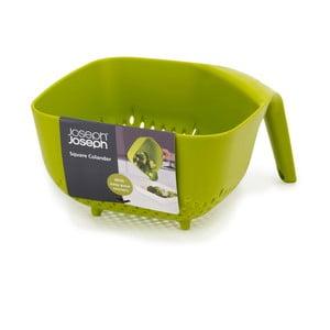 Square Colander nagy zöld tésztaszűrő - Joseph Joseph