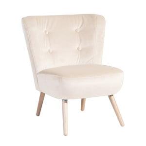 Neele Velvet krémszínű fotel - Max Winzer