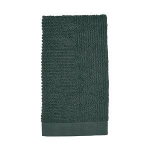 Classic sötétzöld kéztörlő, 50 x 100 cm - Zone