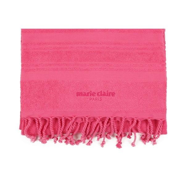 Pink strandtörölköző