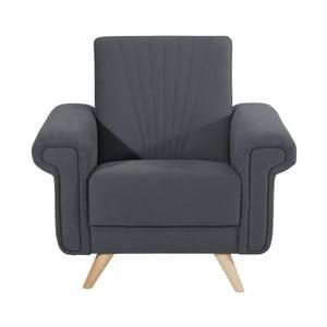 Jannes szürke fotel - Max Winzer