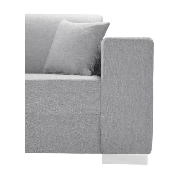 Perle világos szürke kanapé, bal oldal - Interieur De Famille Paris