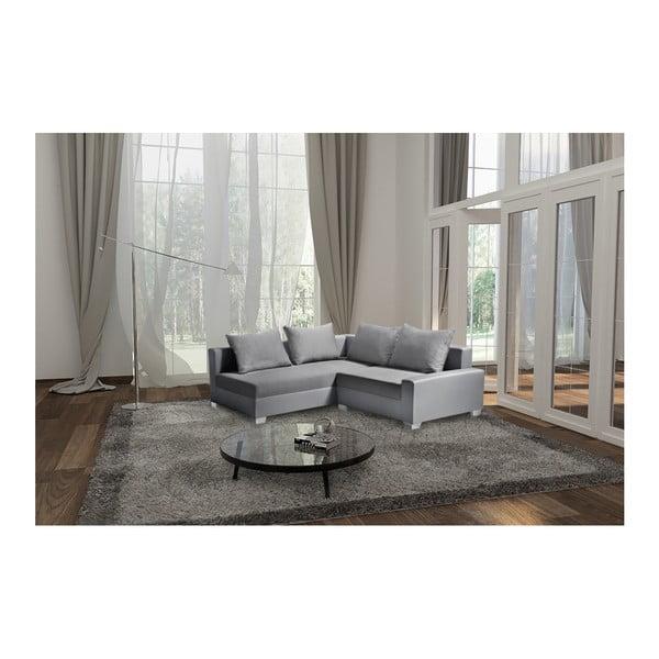 Aventure világosszürke kanapé, bal oldalas - Interieur De Famille Paris