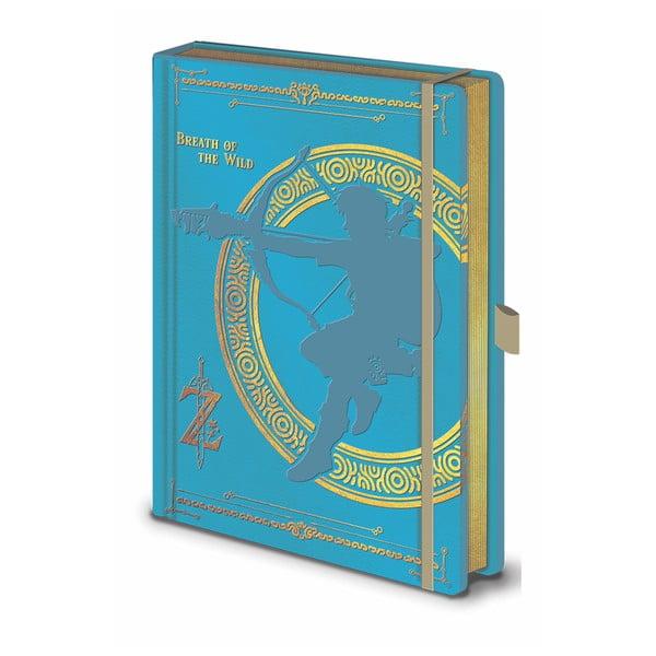 The Legend of Zelda BOTW jegyzetfüzet, A5, 120 oldal - Pyramid International