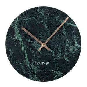 Marble Time zöld márvány falióra - Zuiver