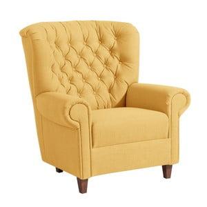 Vicky sárga füles fotel - Max Winzer
