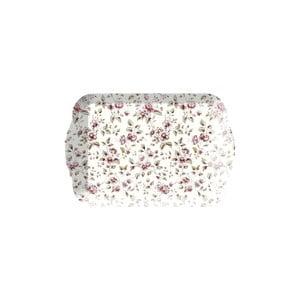 Floral virágos tálca, 21 x 14 cm - Creative Tops