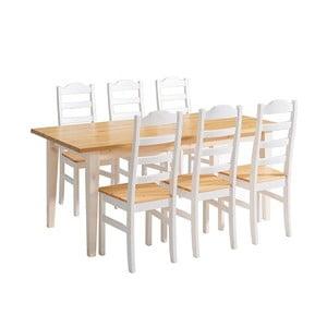 Scala fenyőfa étkezőasztal - Askala