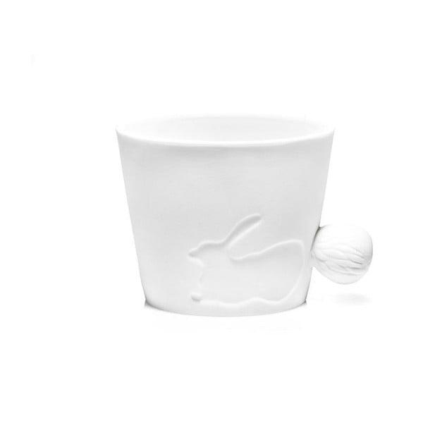 Porcelán csésze nyúlfarok alakú füllel, 270 ml - Just Mustard