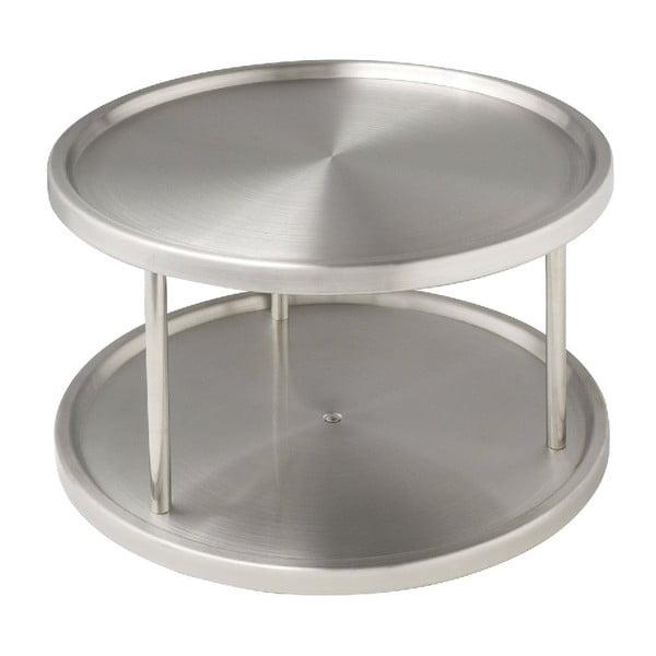 Turn Duo forgatható acéltálca, ø 26,5cm - Wenko