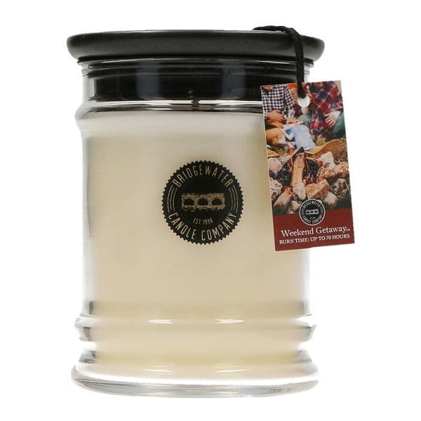 Getaway illatos gyertya üveg tartóban, égési idő 65-85 óra - Creative Tops