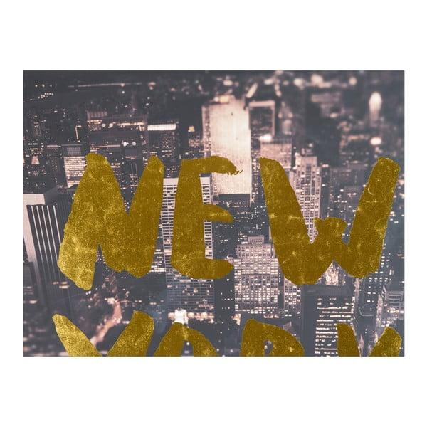 New Yorl falikép, 100 x 140 cm - Santiago Pons