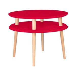 Ufo piros dohányzóasztal, ⌀ 57 cm - Ragaba