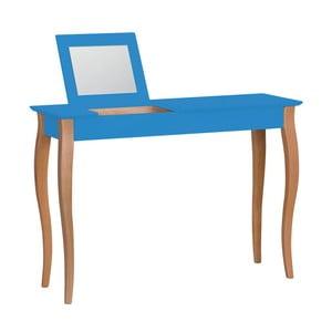 Modrý toaletní stolek se zrcadlem Ragaba Lillo, šířka105cm