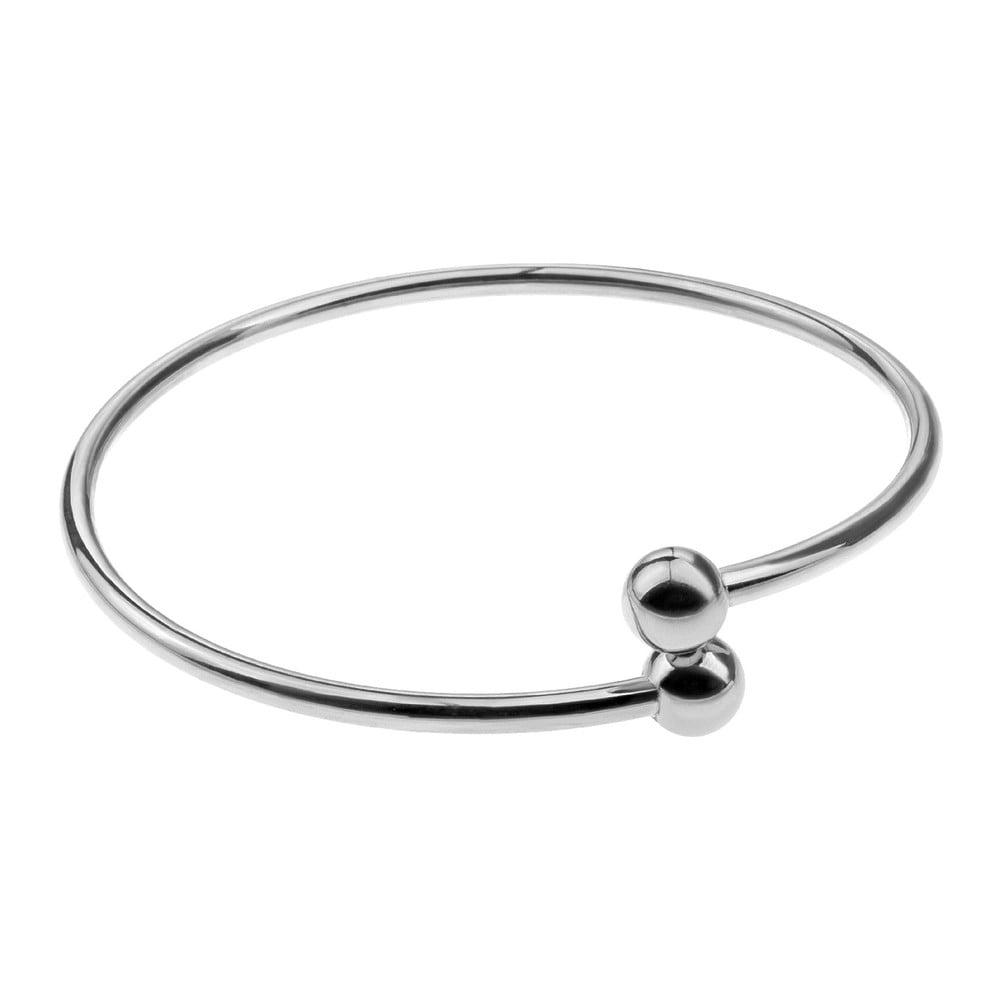 Solid ezüstszínű női karkötő rozsdamentes acélból - Emily Westwood ... 30d7380963